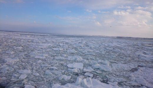 北海道旅行1日目・流氷クルーズ・知床流氷フェス